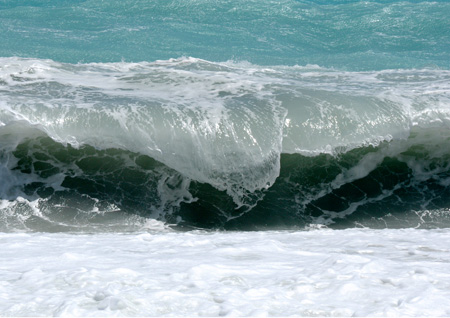 Wave from Nice, France Copyright Michael Crawford-Hick